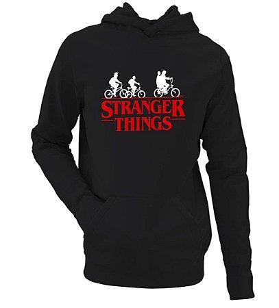 Moletom Stranger Things Seriado Justin Bike Série