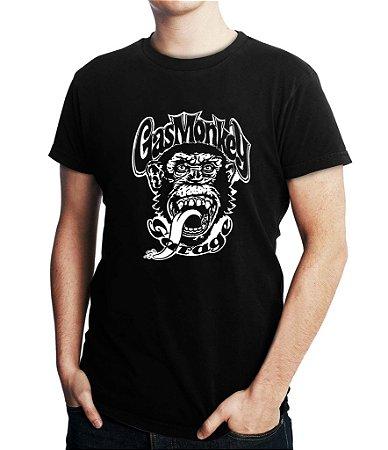 Camiseta Masculina Gas Monkey Bandas de Rock - Personalizadas/ Customizadas/ Estampadas/ Camiseteria/ Estamparia/ Estampar/ Personalizar/ Customizar/ Criar/ Camisa Blusas Baratas Modelos Legais Loja Online