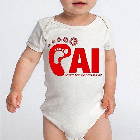 Body Bebê Internacional Time Futebol Do Papai Colorado  - Roupinhas Macacão Infantil Bodies Roupa Manga Curta Menino Menina Personalizados