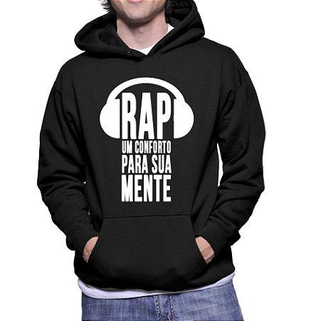 Moletom Masculino Frases Rap Para Sua Mente - Moletons Personalizados Blusa/ Casacos Baratos/ Blusão/ Jaqueta Canguru