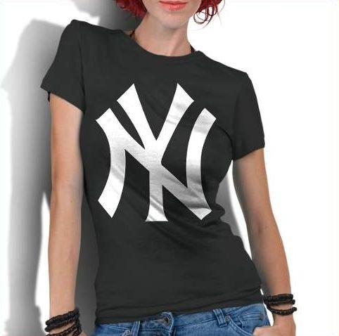 Camiseta Feminina New York Yankees Nyy Basebal - Personalizadas/ Customizadas/ Estampadas/ Camiseteria/ Estamparia/ Estampar/ Personalizar/ Customizar/ Criar/ Camisa Blusas Baratas Modelos Legais Loja Online