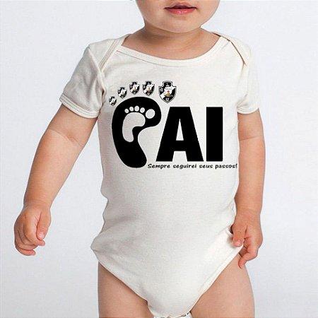Body Bebê Time De Futebol Do Papai Vasco - Roupinhas Macacão Infantil Bodies  Roupa Manga Curta 59f6877fa0b37