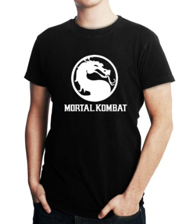 Camiseta Masculina Mortal Kombat Games Anime - Personalizadas/ Customizadas/ Estampadas/ Camiseteria/ Estamparia/ Estampar/ Personalizar/ Customizar/ Criar/ Camisa Blusas Baratas Modelos Legais Loja Online