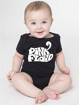Body Bebê Banda de Rock Pink Floyd - Roupinhas Macacão Infantil Bodies Roupa Manga Curta Menino Menina Personalizados