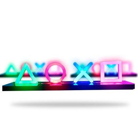 LUMINÁRIA LED  PLAYSTATION ICONS