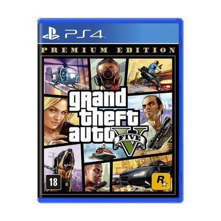 JOGO GTA V PREMIUM ONLINE EDITION PS4