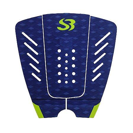 Deck Surf Silverbay WT X PRO - Cor: Marinho/Limão