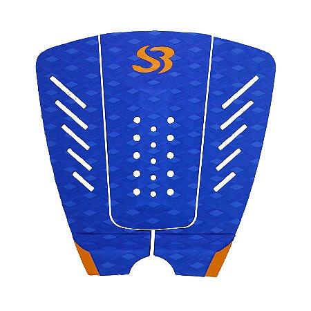 Deck Surf Silverbay WT X PRO - Cor: Azul Royal/Laranja