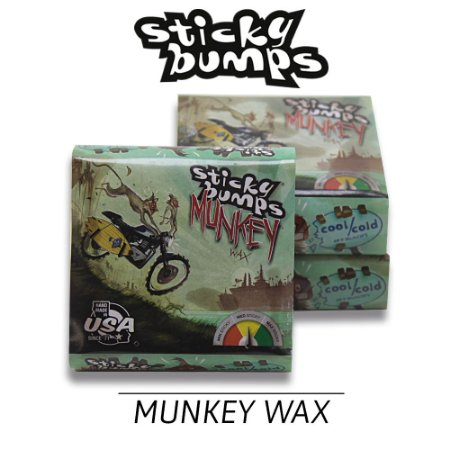 Parafina STICKY BUMPS MUNKEY Cool/Cold