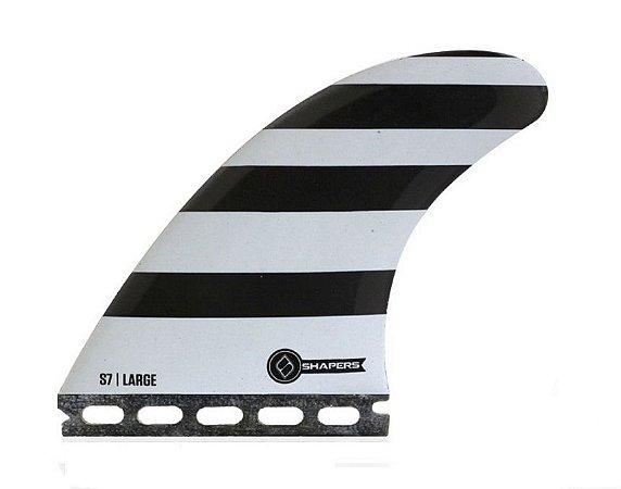 Jogo de Quilhas Shapers Dual Tab S7 Core Lite Thruster - L