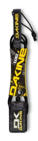 "Leash Surf Dakine Kainui 6' x 1/4"" - Preto"