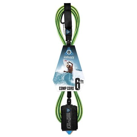 "Leash Surf Komunity Project Comp Cord 6'0"" 6MM"