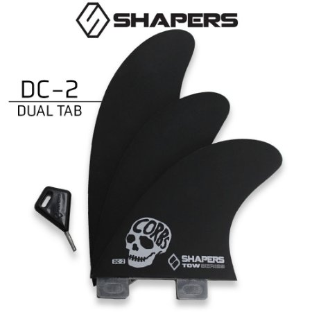 Quilhas SHAPERS Fins TOWN SERIES DC-2 DUAL TAB