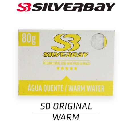 Parafina SILVERBAY Day By Day WARM 80g - 5 UNIDADES
