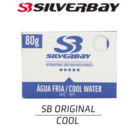 Parafina SILVERBAY Day By Day COOL 80g - 5 UNIDADES