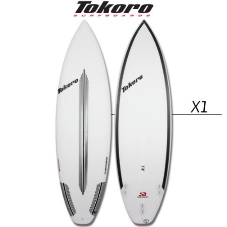Prancha Tokoro X1 - 5' 10'' X 18,88 X 2,88 X 27,80 LTS