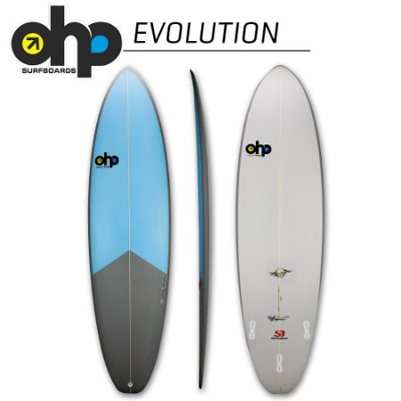 Prancha OHP EVOLUTION - 6'6 x 20 1/8 x 2 3/4 x 37,6L