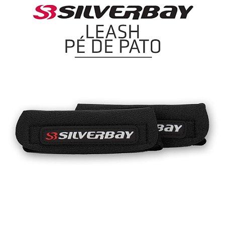 Leash Pé de Pato SILVERBAY Strep Neoprene para Nadadeiras - Preto/Preto