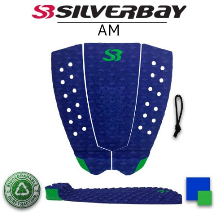 Deck Surf Silverbay AM - Signature Alejo Muniz - Azul/Verde