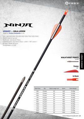 Flechas Ninja ARNN001 / NINJA ARROW ARNN001