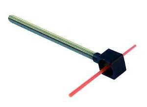 Pin Mira Carte Fibra Ótica / Cartel Sight Pin Square Fiber