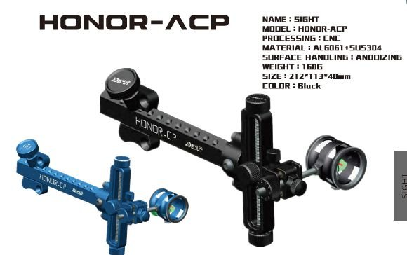 Mira Decut composto Honor-CP RH/LH - Compound sight Honor-CP RH/LH