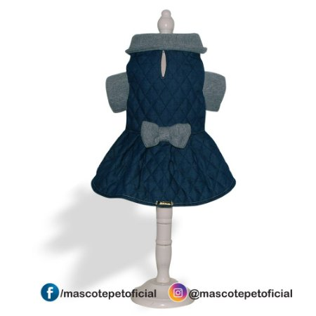 Ref. 598 VESTIDO MATELADO JEANS