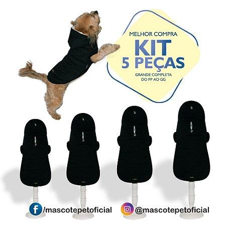 KIT 5 PEÇAS Ref. 593 Casaco Sherpa