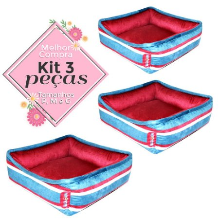 KIT 3 PEÇAS Ref.659 Cama Diego - P M G