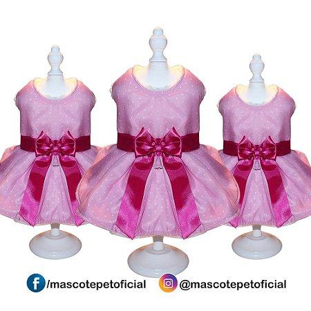 Roupa Kit 3 peças - Ref. 847 Vestido Princesa