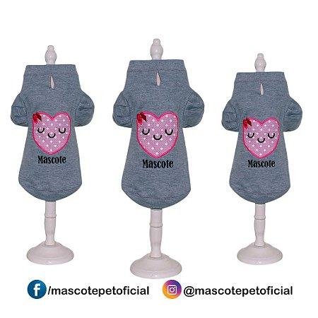 Roupa Kit 3 peças - Ref. 801 Casaco coração