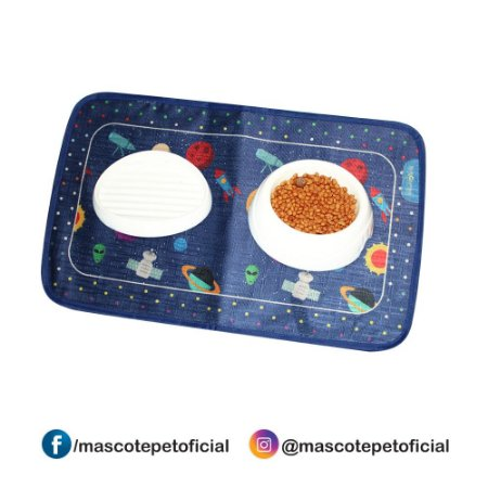 Ref 600 - tapete para comedouro - Space