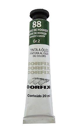 Tinta Oleo Corfix 20ml 88 Verde de Hooker Grupo 2