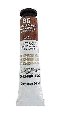 Tinta Oleo Corfix 20ml 95 Marrom De Garança Grupo 4