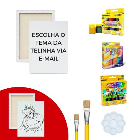 Kit de Pintura - Glitter
