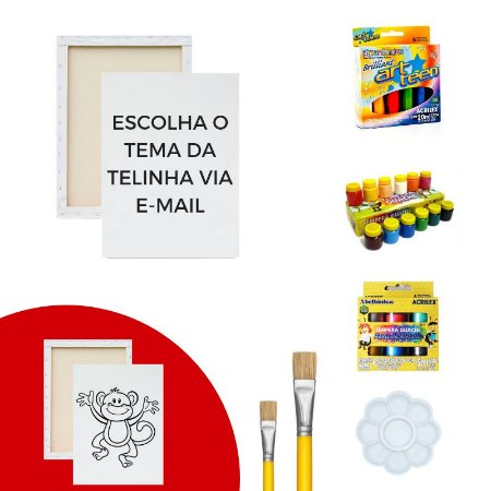 Kit de Pintura - Criativo