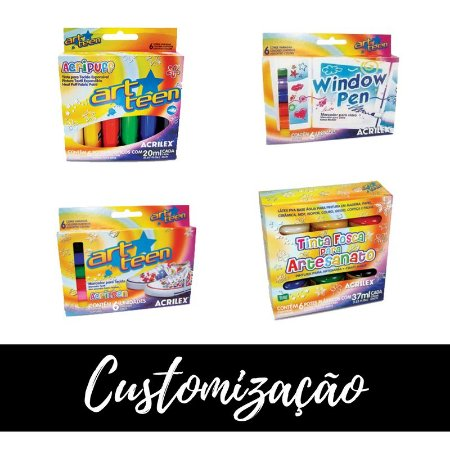 Kit de Pintura - Customização