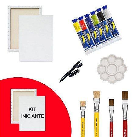 Kit de Pintura Iniciante - Básico