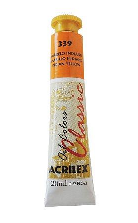 Tinta Oleo Acrilex 20ml 339 - Amarelo Indiano