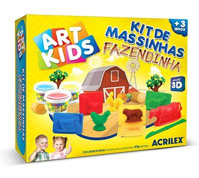Kit de Massinhas - Fazendinha