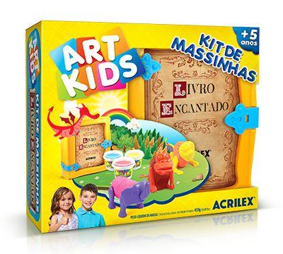 Kit de Massinhas - Livro Encantado
