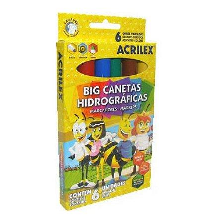 Big Canetinhas Hidrográficas - 06 Cores