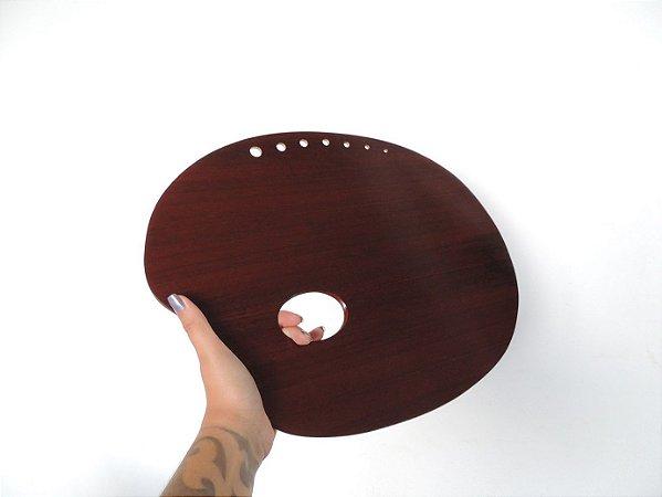 Paleta para Pintura com Cavidade Trident MOD. 12.402 PU