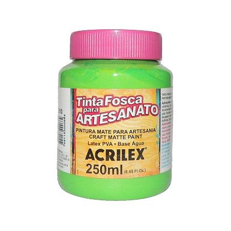 Tinta Fosca para Artesanato Acrilex 250ML - 510 Verde Folha