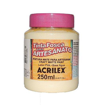 Tinta Fosca para Artesanato Acrilex 250ML - 529 Marfim