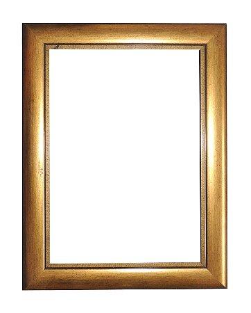 Molduras para Fotos - 0386 Dourada (Somente a Moldura)