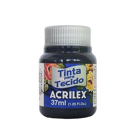 Tinta para Tecido Acrilex 37ml 596 Azul Petróleo