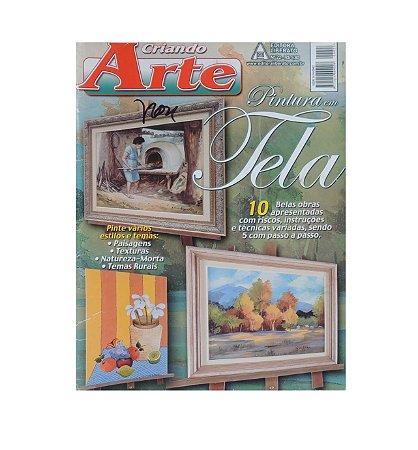 Revista - Criando Arte, Pintura em Tela