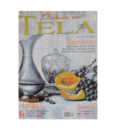 Revista - Pintura em Tela, Supertécnicas