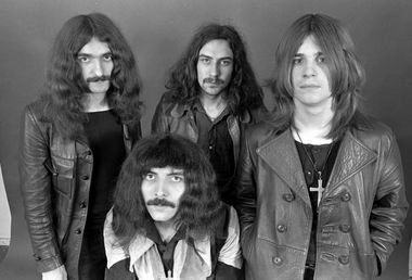 Quadro Decorativo Black Sabbath